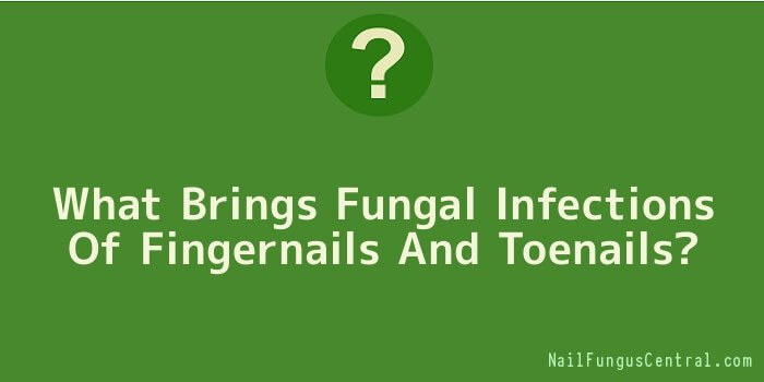 What Brings Fungal Infections Of Fingernails And Toenails